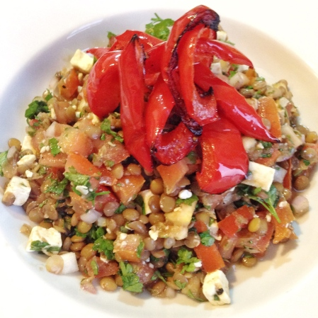 Lentil and feta - recipes for fertility