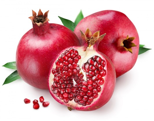 Pomegranates for fertility
